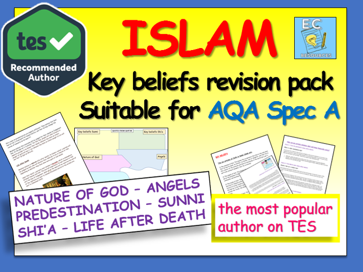 Islam GCSE AQA Revision - Key Beliefs