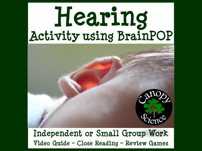 Hearing Activity using BrainPOP