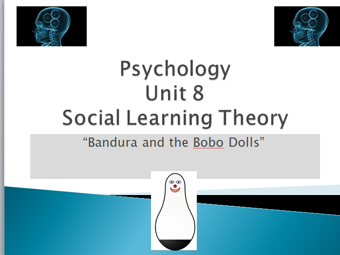 "Psychology Lesson and Work Booklet for Post-16- ""Bandura and his Bobo Dolls"""