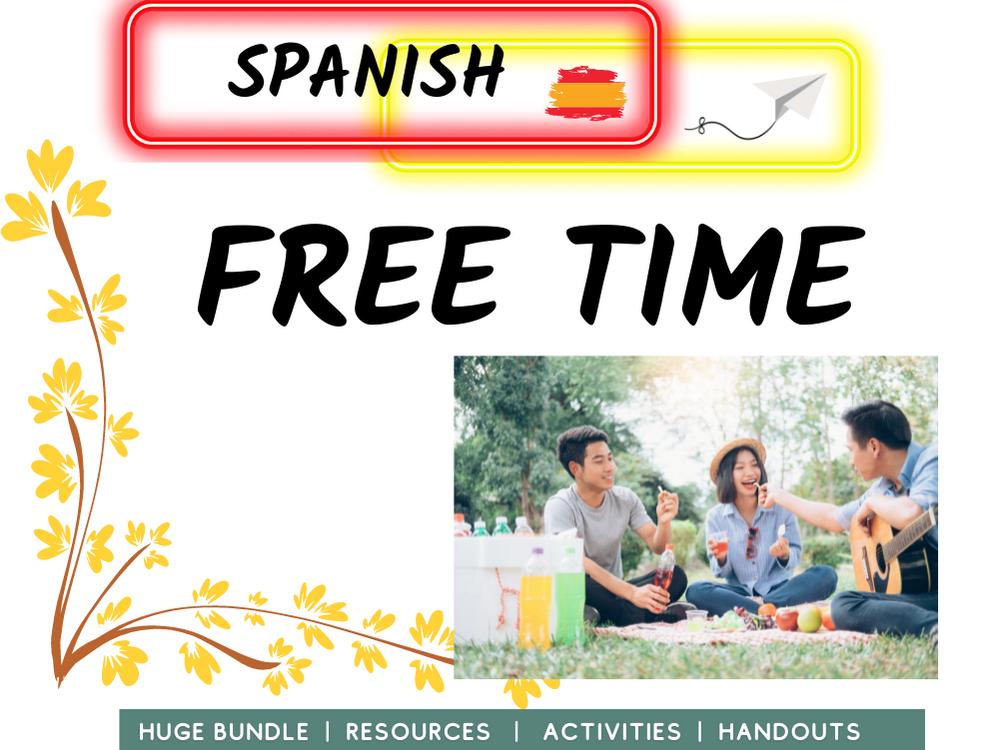 Free time and Hobbies Spanish MFL