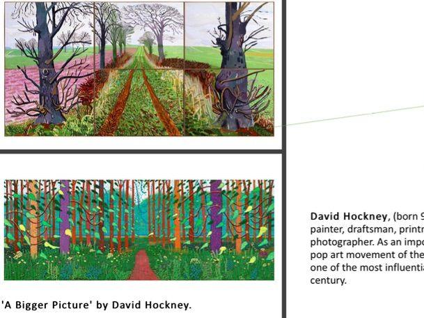 ART LESSON David Hockney Contemporary