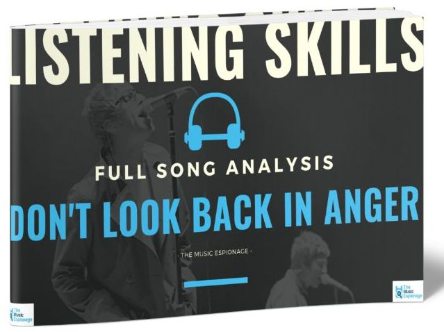 Oasis - Don't Look Back in Anger - LISTENING SKILLS