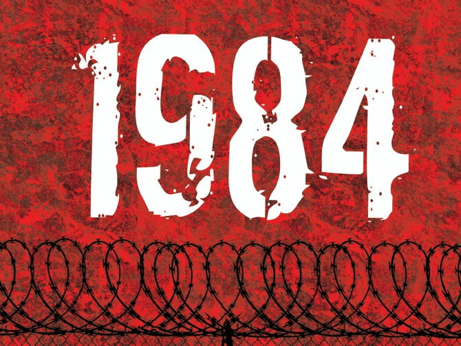 1984 (14) Themes: The dangers of totalitarianism