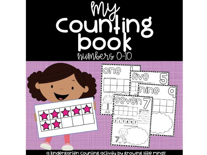 My Counting Book: Numbers 0-10