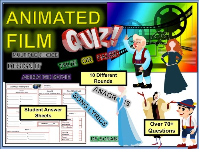 Film Movie end of Term Quiz