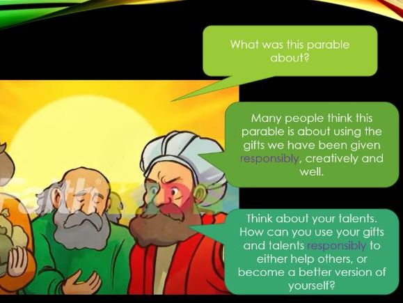 Responsibility - Using our Gifts Responsibly