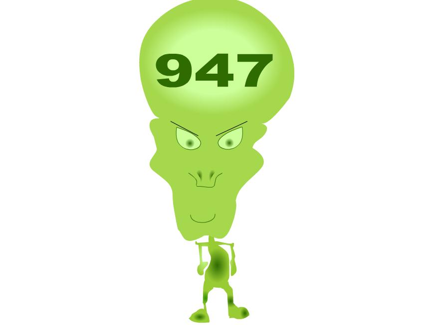 3 Digit Numbers - interactive aliens