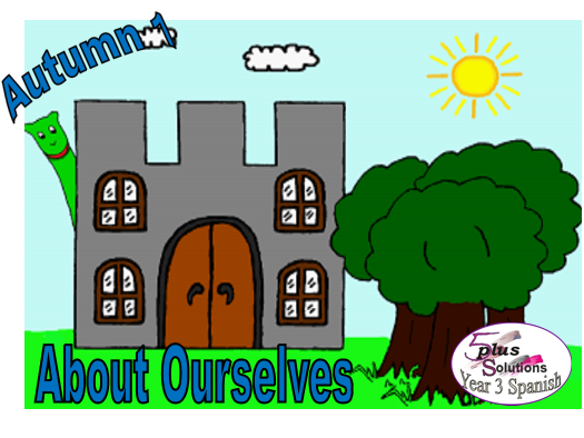 Primary Spanish COLOUR PUPIL VOCABULARY LEARNING MAT: Year 3 About Ourselves