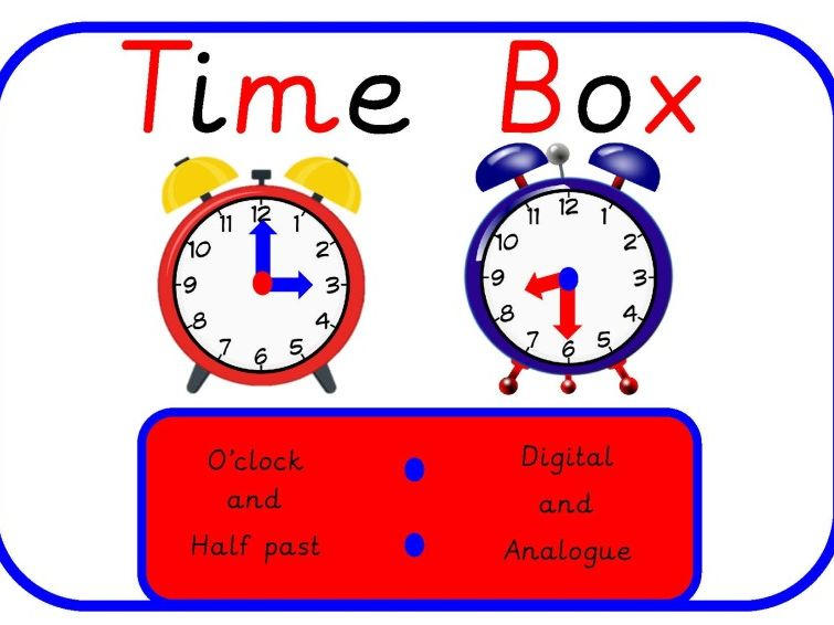 Time Bundle (O'Clock and Half Past)