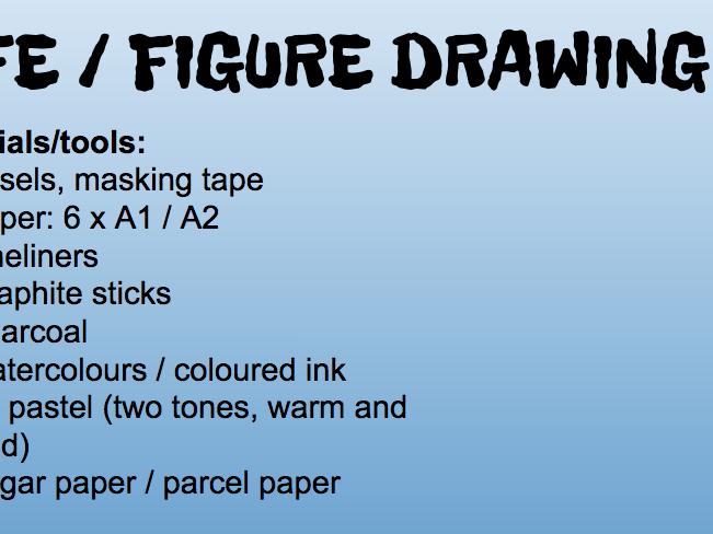 Life / Figure Drawing