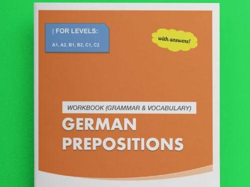 German prepositions / Deutsche Präpositionen (WITH ANSWERS!)
