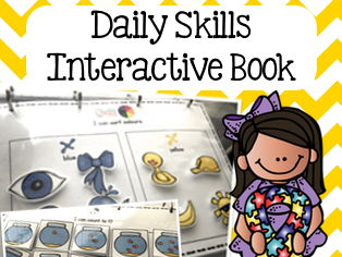 Adapted Daily Skills Book - UK