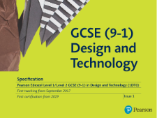 Edexcel Product Design Coursework Guide for  Students (New Specification for Teaching from 2017)