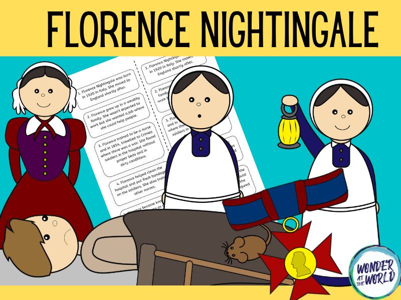 Florence Nightingale display and sequencing activity