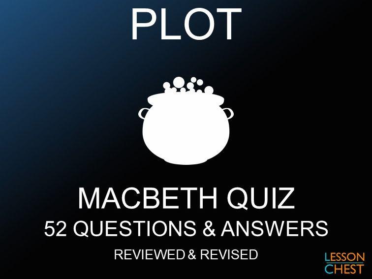 Macbeth Quiz - Plot
